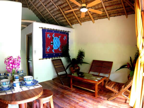 Playa Grande Costa Rica - Sol y Luna lodge - Bungalows Familienhäuser